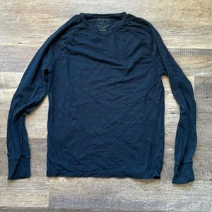 American Eagle navy blue long sleeve size xs